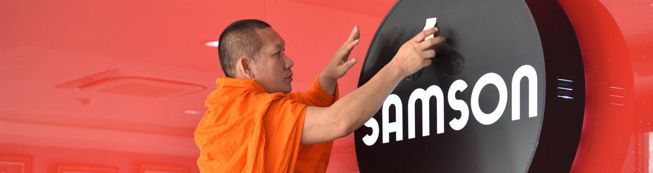 Inauguration of the new SAMSON building in Thailand