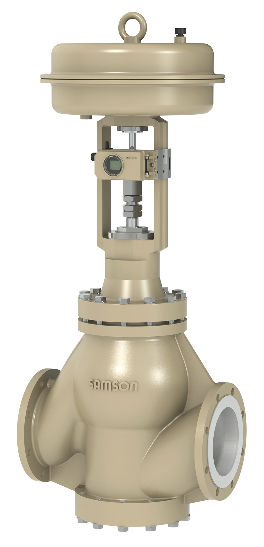 PTFE-lined control valve by SAMSON PFEIFFER